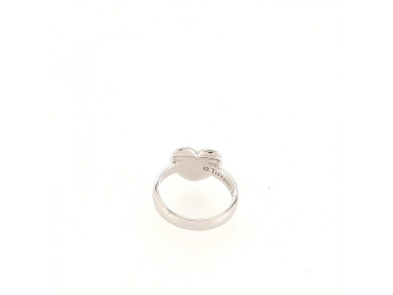 Tiffany & Co. Etoile Heart Ring 18K White Gold and Diamonds 18K White Gold and Diamonds 5