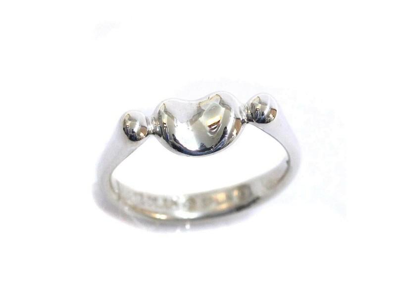 Tiffany & Co. Silver Bean Ring