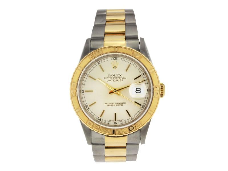 Rolex Datejust 16263 Vintage 36mm Mens Watch