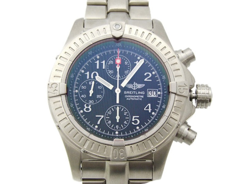 Breitling Chronomat E13360 Titanium Automatic 44mm Mens Watch