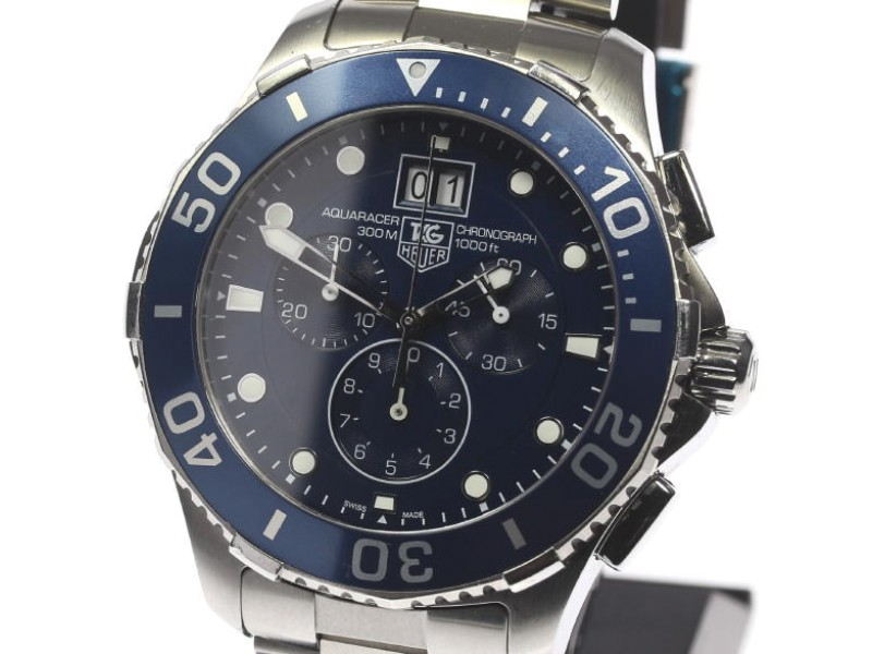Tag Heuer Aquaracer CAN1011.BA0821 Stainless Steel Quartz 45mm Mens Watch