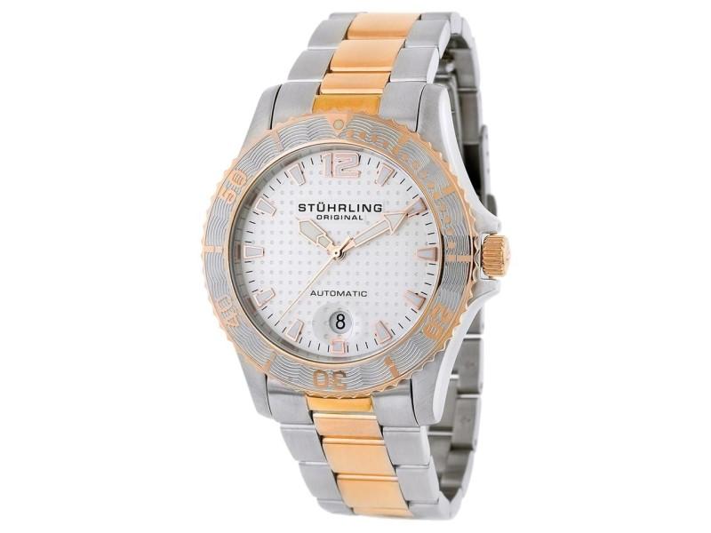 Stuhrling Regatta 161.332242 Stainless Steel 42mm x 41mm Watch
