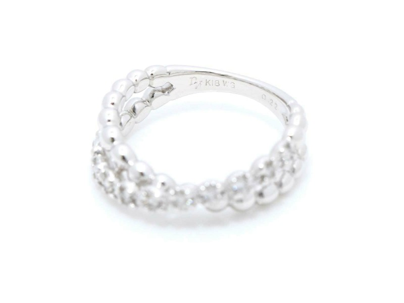Ponte Vecchio 18k White gold Diamond Ring