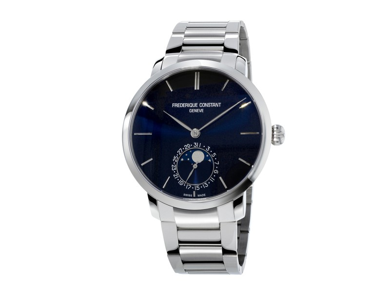 Frederique Constant Slimline Manufacture FC-705N4S6B Stainless Steel 42mm Mens Watch