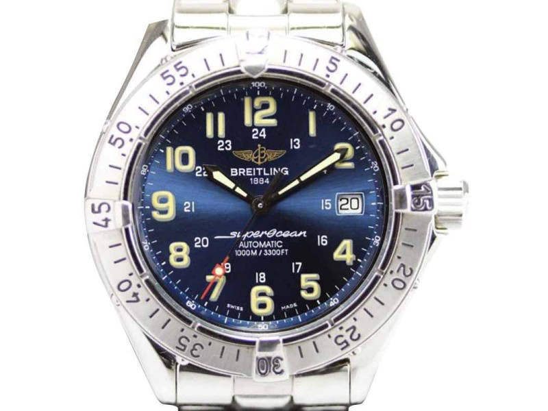 Breitling Superocean Stainless Steel Automatic 41mm Men's Watch