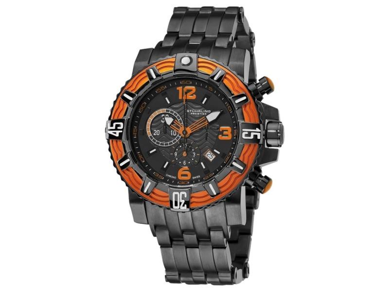 Stuhrling Prestige Marine Pro 319127-117 Stainless Steel 50mm Watch