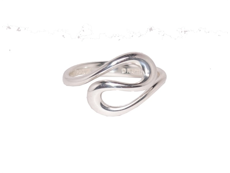 Tiffany & Co. 925 Sterling Silver Ring Size 8