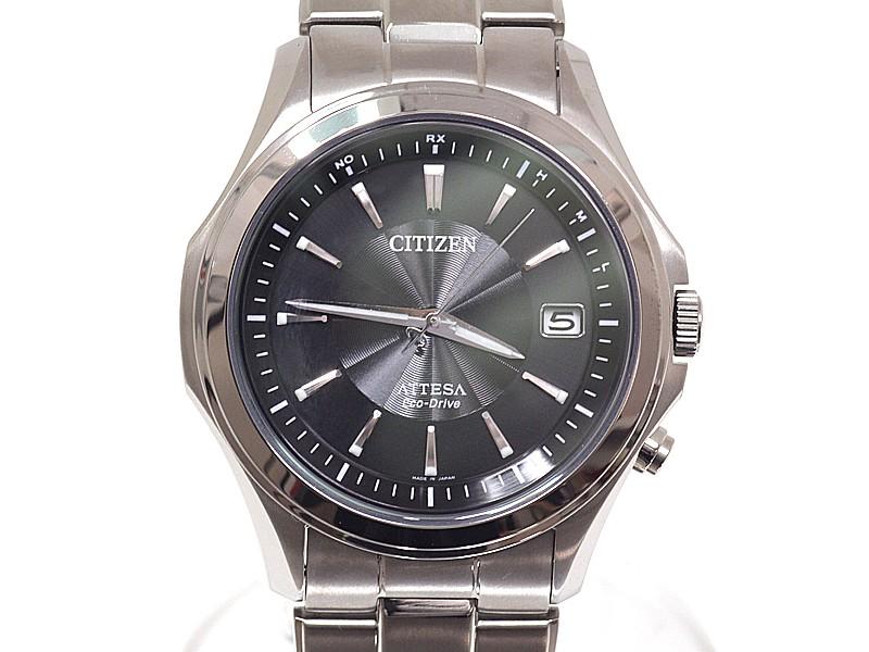 Citizen Attesa ATD53-2973 Titanium Quartz 42mm Mens Watch