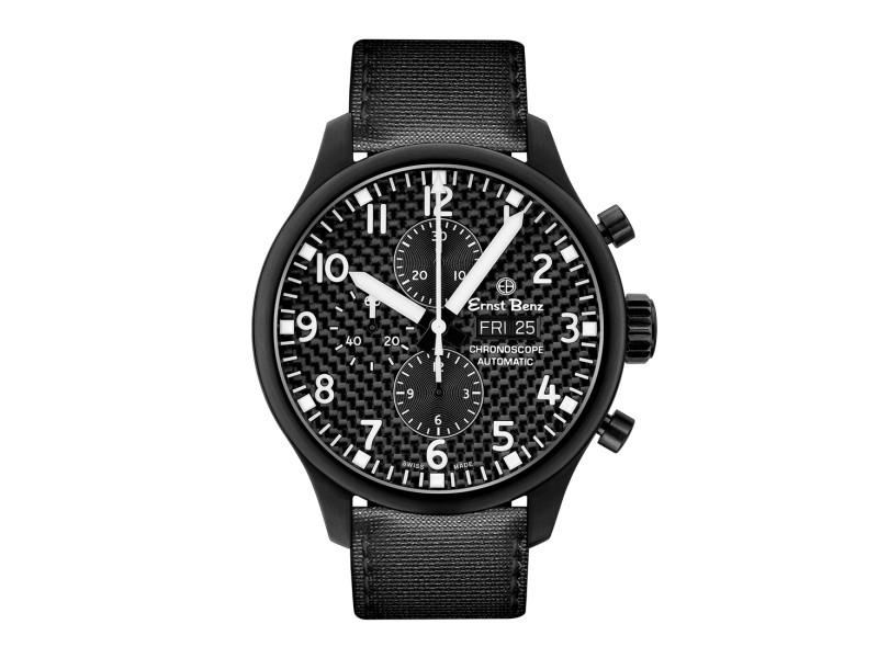 Ernst Benz ChronoScope GC10171N-CF Mens  47mm Watch