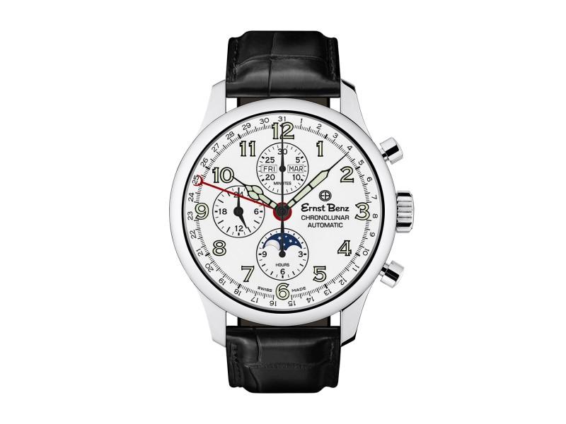 Ernst Benz ChronoLunar GC40312 A 44mm Mens Watch