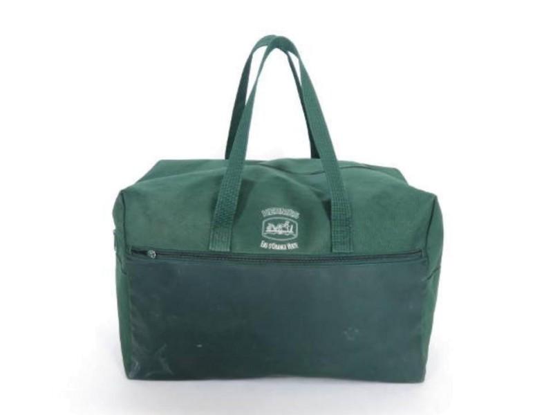 Hermès Green Duffle Extra Large Travel Boston 222286