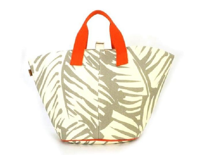 Hermès Large Panier De Plage with Pouch 221032