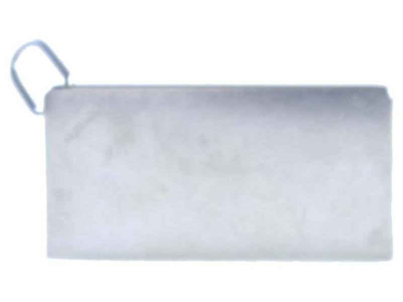 Hermès Pendant Charm 15hr0618 Silver Metal Clutch