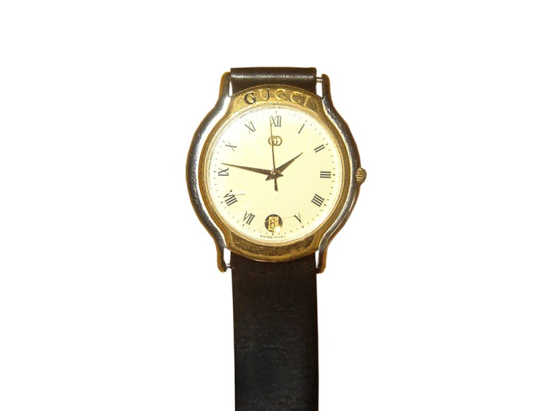 Gucci Gold Plated 8000m Watch