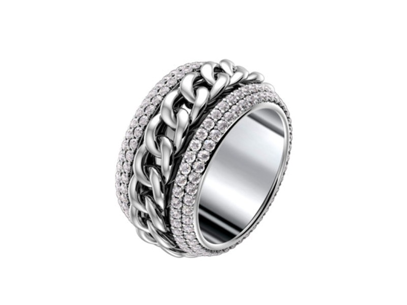 Possession Classic Chain Motif Ring
