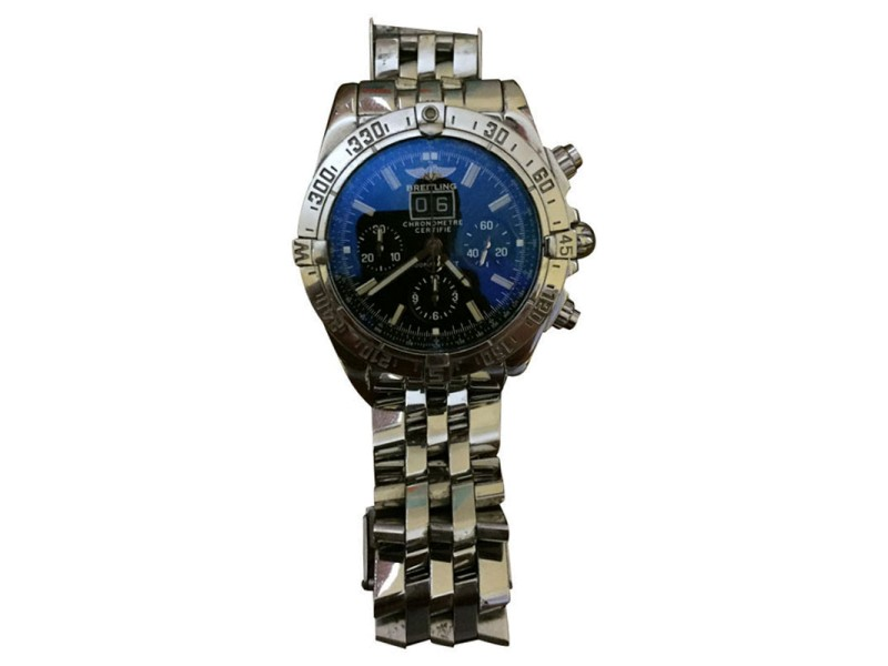 Breitling Blackbird A44359 Stainless Steel 44mm Watch
