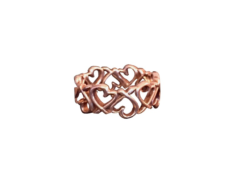 Tiffany & Co. Polamo Picasso Loving Heart Band Ring