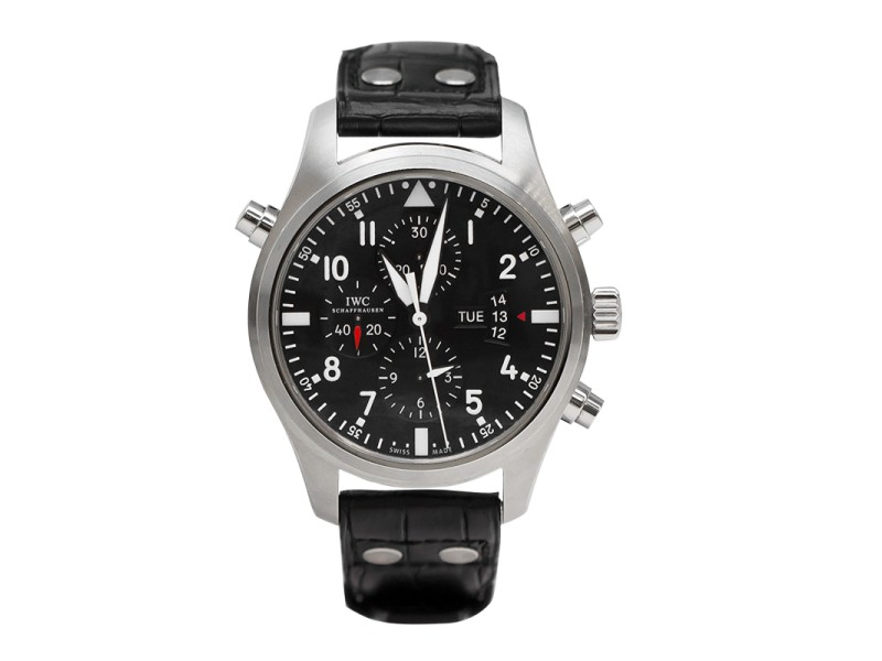 IWC Pilot's Watch Double Chronograph IW377801 Mens Watch