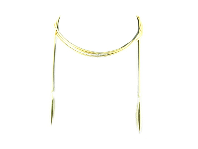 Tiffany & Co. 18K Yellow Gold Lariat Snake Chain Necklace