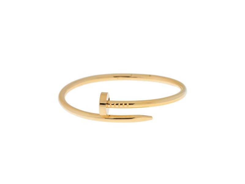 Cartier Juste Un Clou Yellow Gold Bracelet Size 18