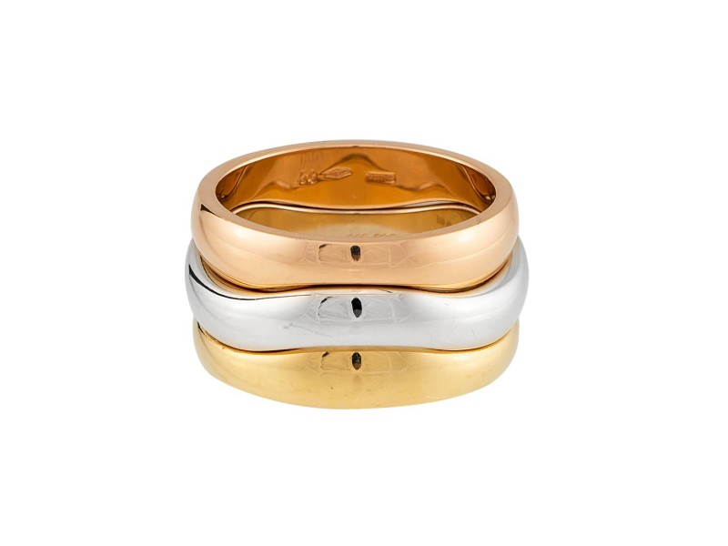 Cartier Love Me Rings 18K Gold Size 6.75