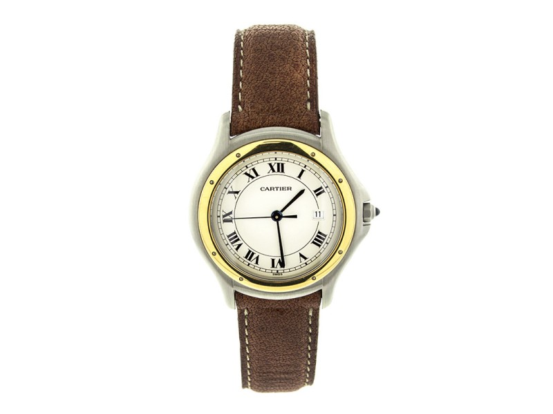 Cartier Cougar Two Tone 2T-33MM Watch
