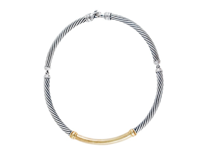 David Yurman Cable Choker Necklace