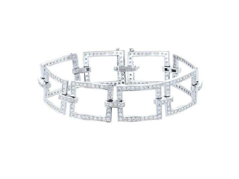 Carl Gansky 4.95ct Diamond Bracelet