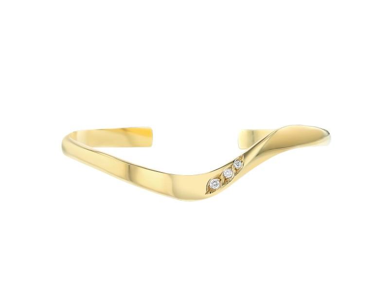 John Atencio 18K Yellow Gold and Diamond Bracelet