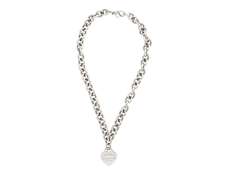 Tiffany co sterling silver return to tiffany heart necklace tiffany co sterling silver return to tiffany heart necklace aloadofball Images