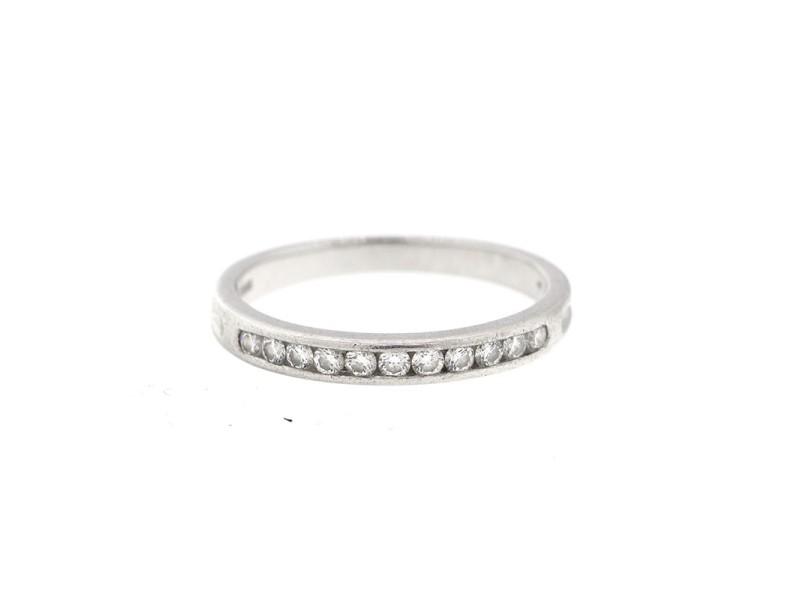 Tiffany & Co. Platinum Diamond Wedding Band