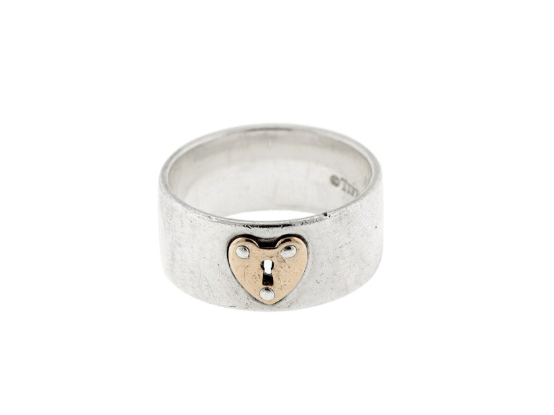 Tiffany & Co. Locks Heart Lock Ring