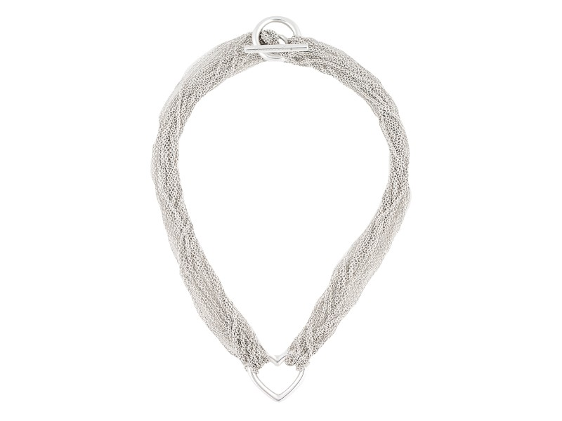 Tiffany & Co. 925 Sterling Silver Choker Necklace