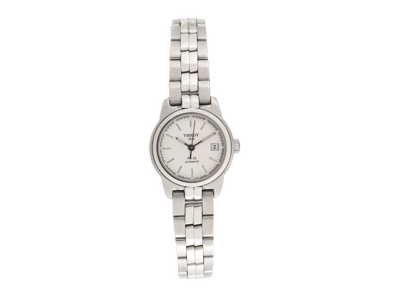Tissot PR50 Stainless Steel Automatic 25mm Womens Watch
