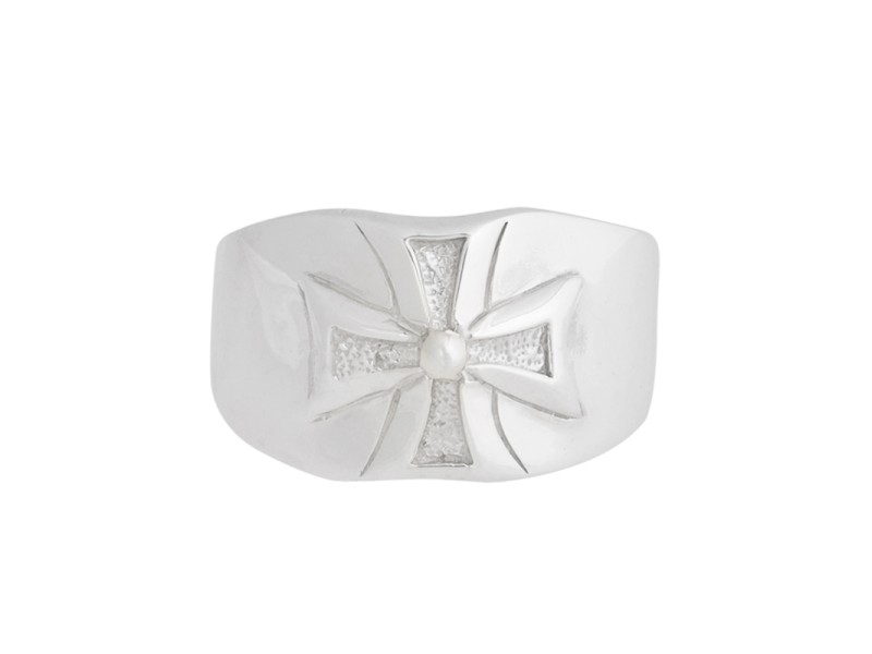 SilverSmiths Leonard Kamhout Chrome Hearts Ring