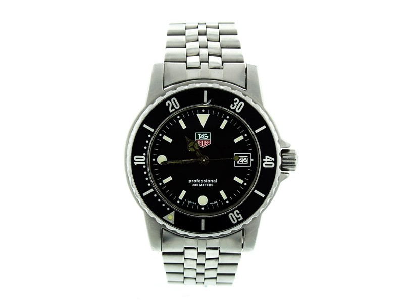 Tag Heuer Professional 200M WD1210-00 Midsize Watch