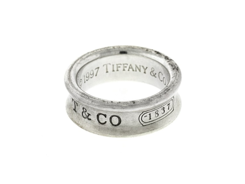 Tiffany & Co. Sterling Silver 1837 Ring