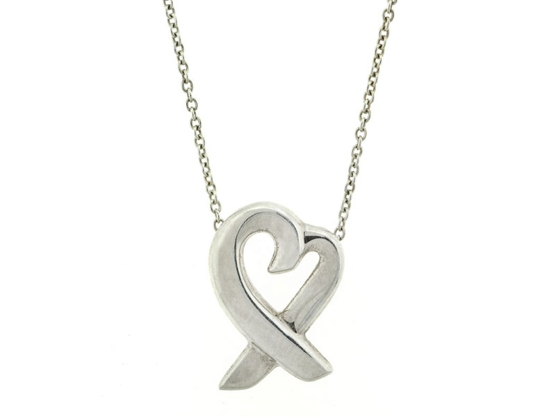 Tiffany & Co. Paloma Picasso Loving Heart Necklace