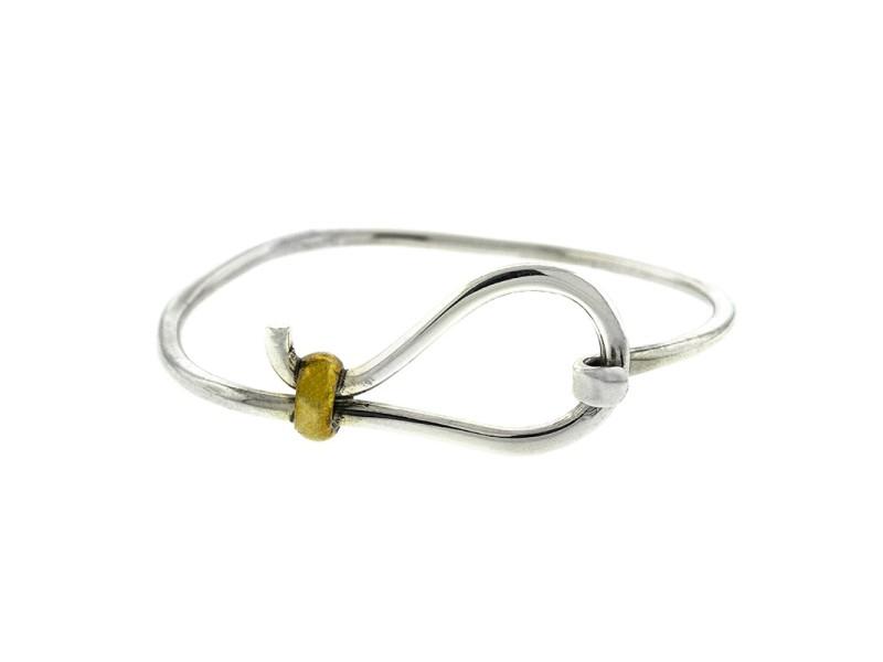 Lady's Silver Hook Bracelet