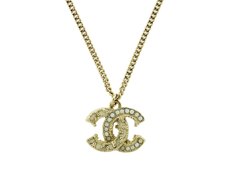 Chanel Logo CC Necklace