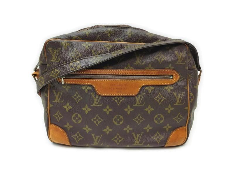 Louis Vuitton Ultra Rare 1 of 1 Exclusivite Los Angeles 1984 Potomac Bag 862431