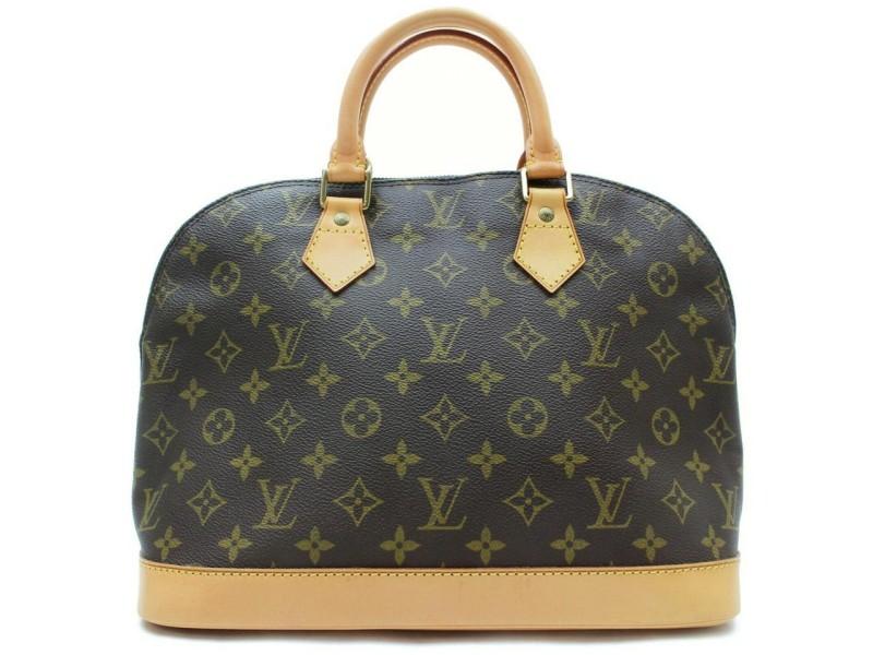 Louis Vuitton Monogram Alma PM Boston Satchel 872700