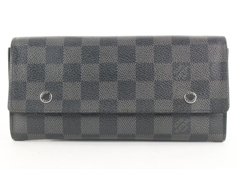Louis Vuitton Damier Graphite Modulable Long Flap Wallet 303lvs514