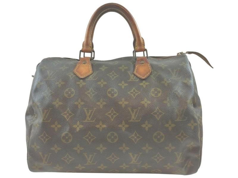 Louis Vuitton Monogram Speedy 30 Boston Bag MM  862018