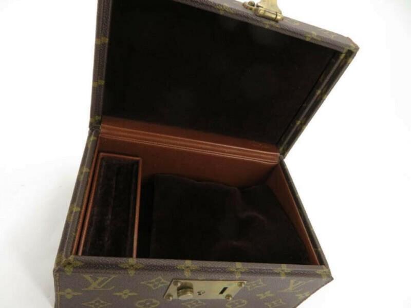 Louis Vuitton Monogram Boit A Tout Jewerly Mini Trunk Box Case 861180