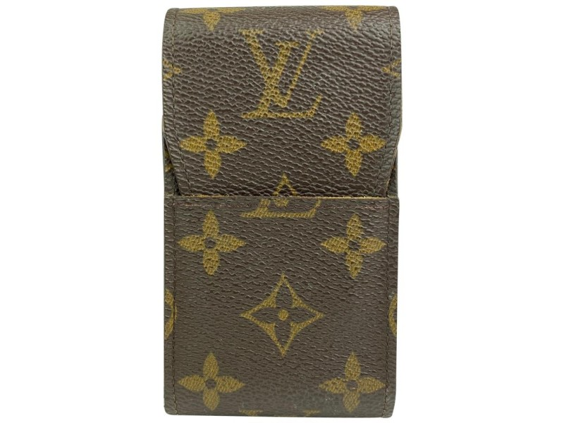 Louis Vuitton Monogram Cigarette Case Monogram Etui Holder 15ALV102