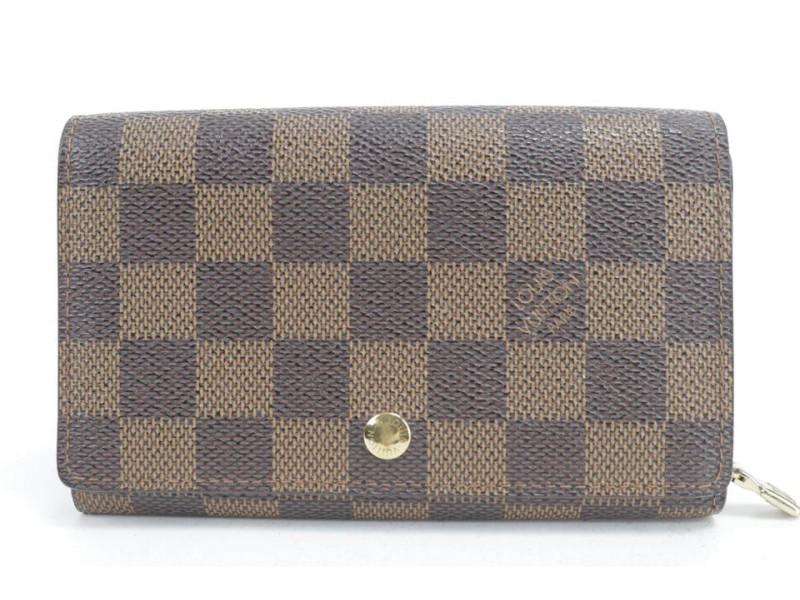 Louis Vuitton Damier Ebene Snap Wallet 20LK0116