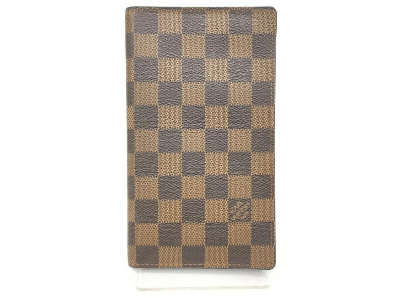 Louis Vuitton Damier Ebene Long Bifold Check Wallet 861589