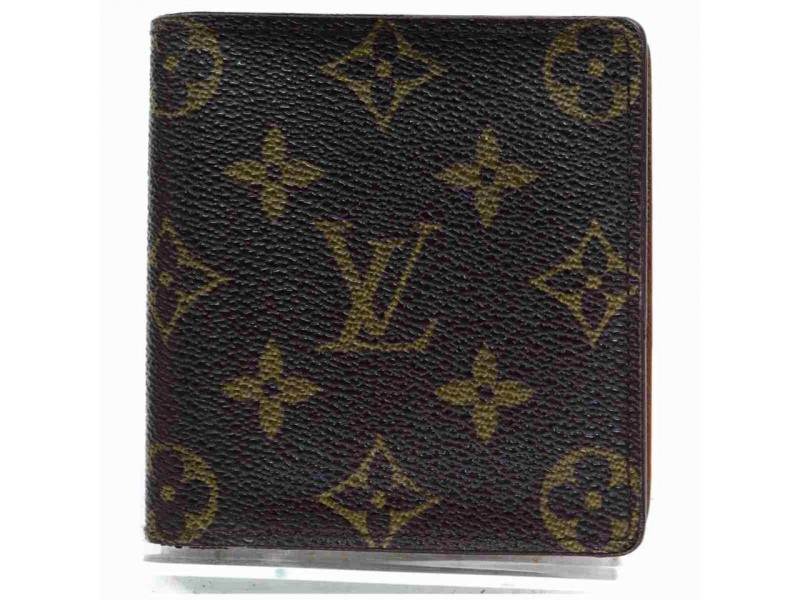 Louis Vuitton Porte Billets Cartes Monogram Men's Wallet 860506