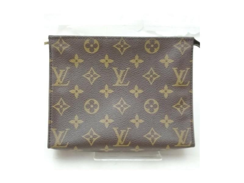 Louis Vuitton Monogram Toiletry Pouch 15 Poche Toilette 863174